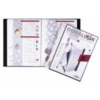 Album ofertowy DURABLE Duralook Plus 20 koszulek czarny