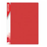 Album ofertowy OFFICE PRODUCTS A4 20 koszulek czerwony