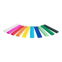 Bibuła marszczona Gimboo 25x200cm 10szt. mix kolorów
