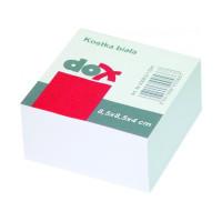 Bloczek kostka OFFICE PRODUCTS 8,5x8,5x4cm nieklejona biała