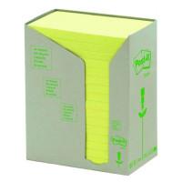 Bloczek samoprzylepny ekologiczny Post-it 76x127mm żółty 16szt.