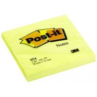 Bloczek samoprzylepny Post-it 76x76mm żółty