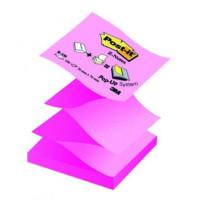 Bloczek samoprzylepny Post-it Z-Notes 76x76mm żółto-różowy
