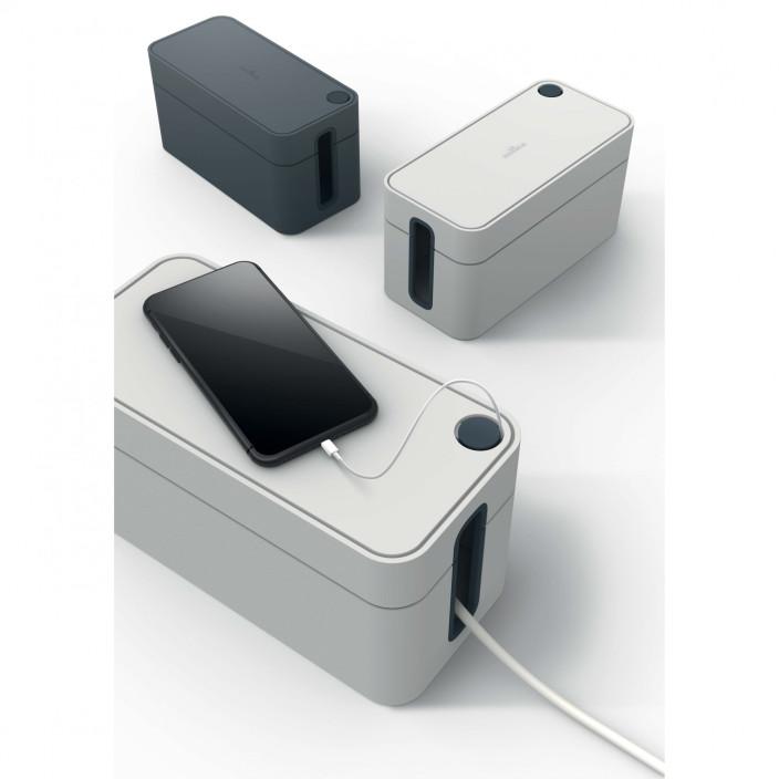 CAVOLINE BOX S, pojemnik na kable mały grafitowy