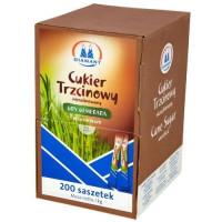 Cukier Trzcinowy DIAMANT w saszetkach 200szt. x 5g