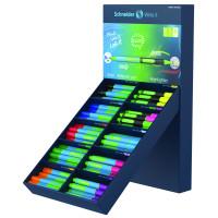 Display Długopis/Zakreślacz SCHNEIDER Link-It 80szt. + 20szt. mix kolorów