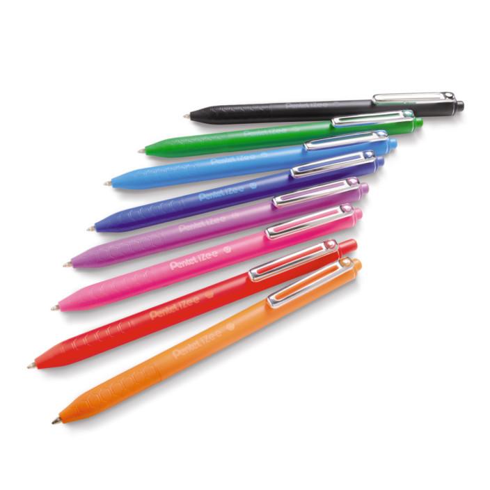 Długopis automatyczny PENTEL BX467 iZee fioletowy