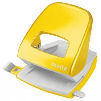 Dziurkacz LEITZ Wow 5008 30 kartek żółty 50081016