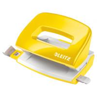 Dziurkacz LEITZ Wow 5060 10 kartek żółty 50601016