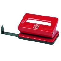 Dziurkacz SAX 128S 12 kartek czerwony