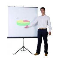 Ekran projekcyjny na trójnogu BI-OFFICE 1800x1800mm