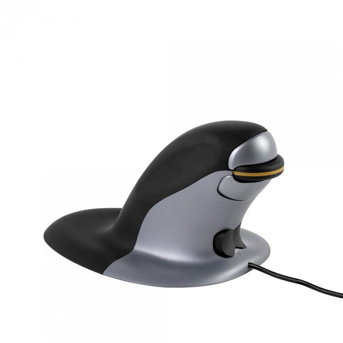 Ergonomiczna mysz pionowa FELLOWES Penguin - przewodowa średnia