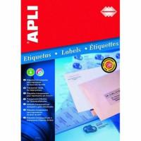 Etykiety APLI ekologiczne 105x148mm 400szt.