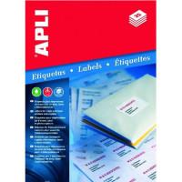 Etykiety uniwersalne APLI AP3128 48,5x16,9mm białe 100ark.