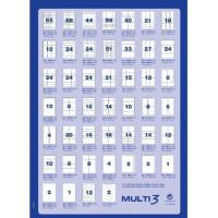 Etykiety uniwersalne MULTI 3 AP10489 średnica 60mm 100ark.
