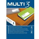 Etykiety uniwersalne MULTI 3 AP10503 199,6x144,5mm 100ark.