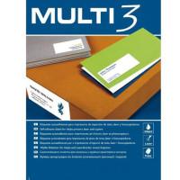 Etykiety uniwersalne MULTI 3 AP4711 105x48mm 100ark.