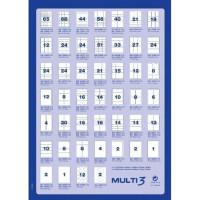 Etykiety uniwersalne MULTI 3 AP4719 52,5x29,7mm 100ark.