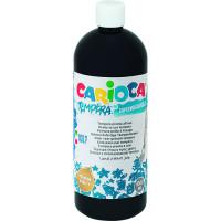 Farba Carioca tempera 1000 ml czarna