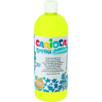 Farba Carioca tempera 1000 ml żółta cytrynowa
