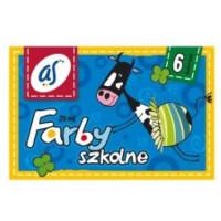 Farby szkolne Astra 6 kolorów 20ml