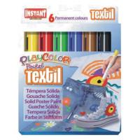 Farby w sztyfcie Instant Playcolor textil 12 kolorów