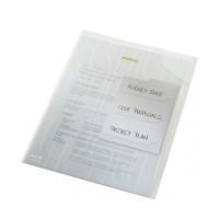 Folder LEITZ Combifile A4 z 3 przekładkami do 60 kartek transparentny 3szt.