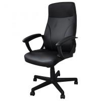 Fotel biurowy Office Products Crete, czarny