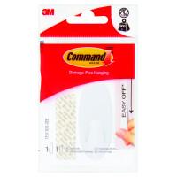 Haczyk wielokrotnego użytku COMMAND średni,biały