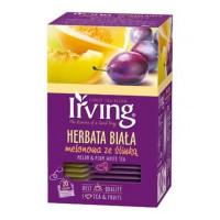 Herbata ekspresowa IRVING biała melonowa ze śliwką 20szt.