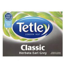 Herbata ekspresowa TETLEY Earl Grey classic 100szt.