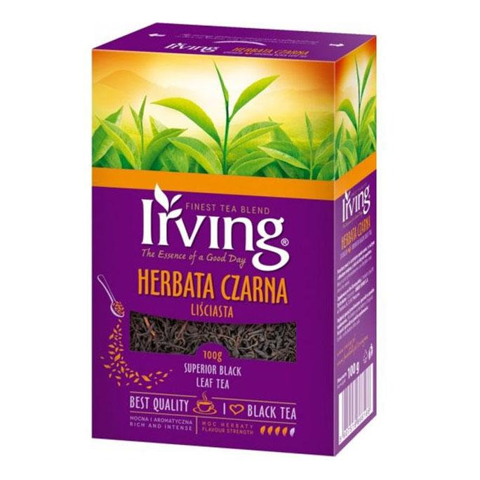 Herbata liściasta IRVING Daily Superior 100g