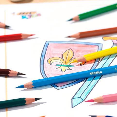 kredki ołówkowe BIC