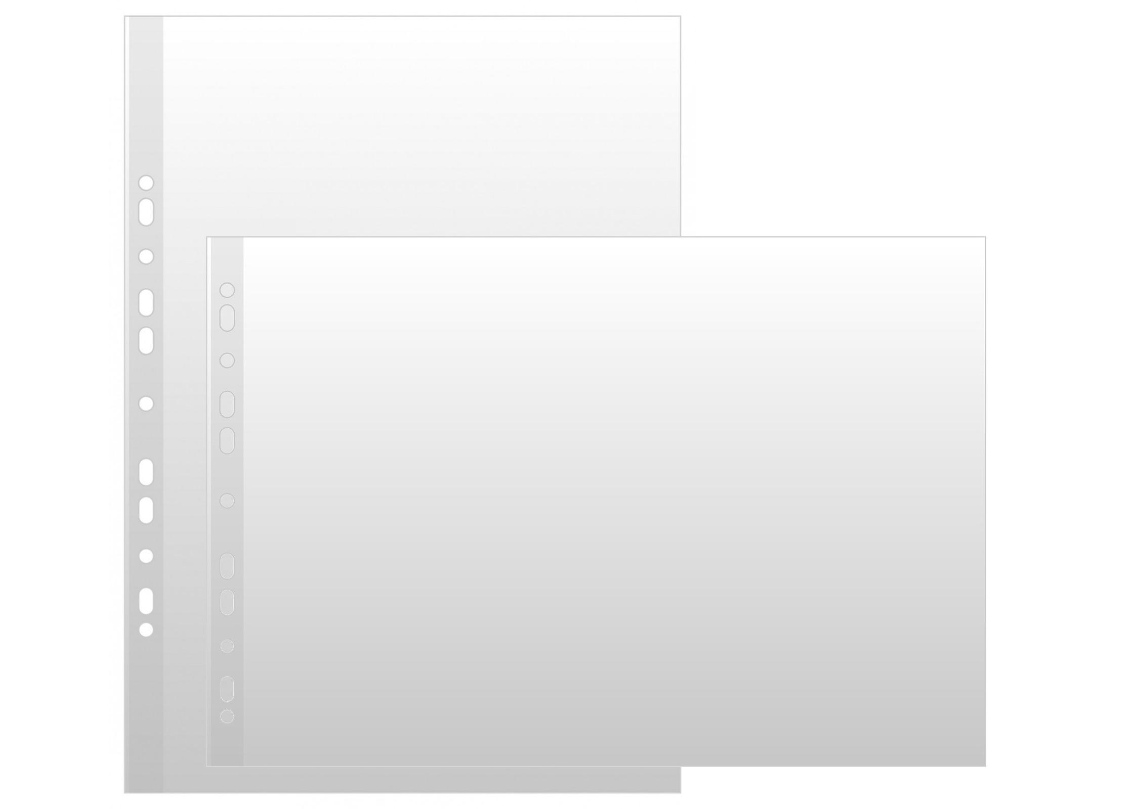 Koszulki na dokumenty A3 poziome i pionowe