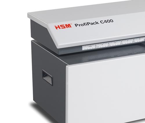 Niszczarka do kartonu HSM ProfiPack C400 uchwyty