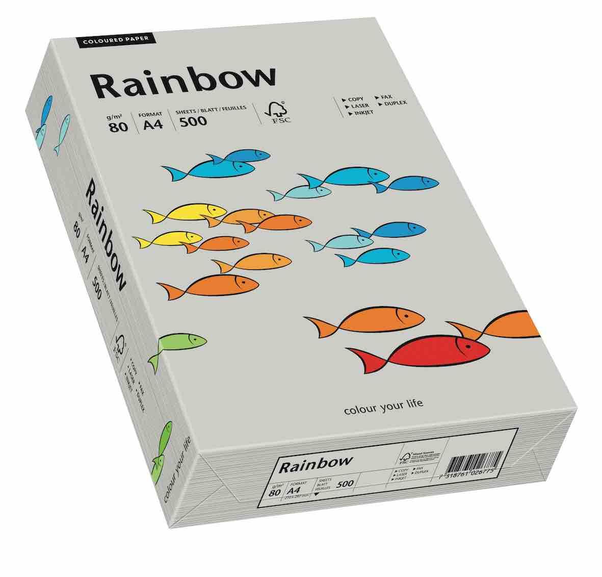 ryza papieru kolorowego A4 papier kolorowy 80g