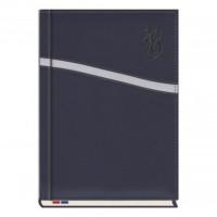 Kalendarz książkowy MiP Mecenas A4 T-253K-11 niebieski