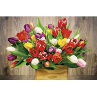 Kalendarz trójdzielny MiP tulipany 315x855 mm