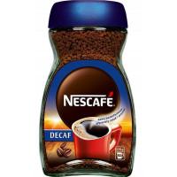 Kawa rozpuszczalna NESCAFE DECAF bezkofeinowa 100g
