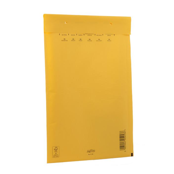 Koperta bąbelkowa D/14 200x275mm AirPro Color żółta 100szt.