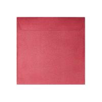 Koperta ozdobna 145x145 Galeria Papieru Pearl czerwona 10szt.