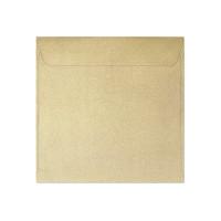 Koperta ozdobna 145x145 Galeria Papieru Pearl złota 10szt.