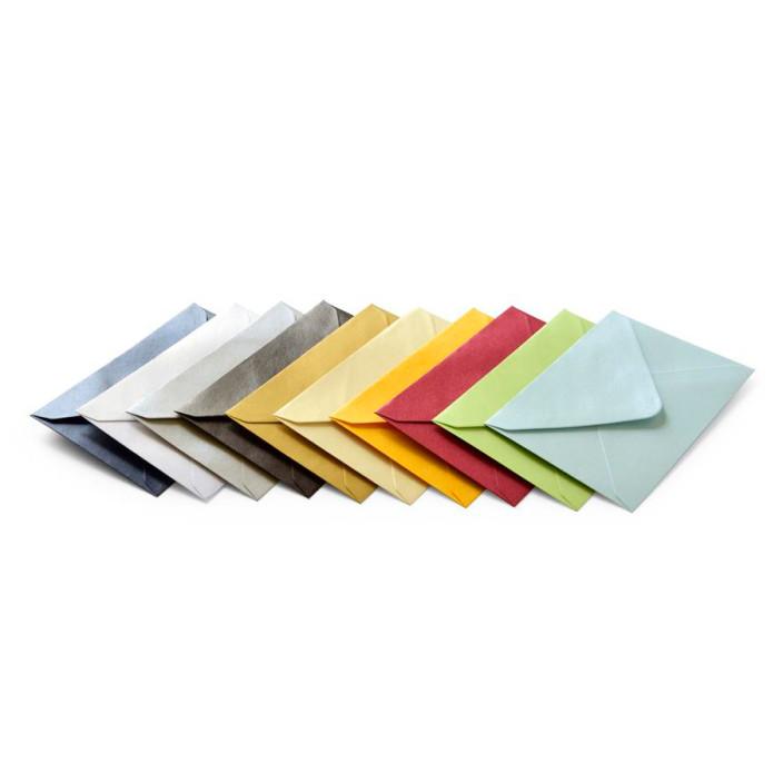 Koperta ozdobna B7 Galeria Papieru mix kolorów metalizowanych 100szt.