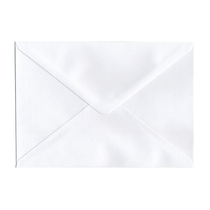 Koperta ozdobna C5 Galeria Papieru Gładka biała 10szt.