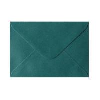 Koperta ozdobna C6 Galeria Papieru Pearl zielona 10szt.