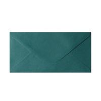 Koperta ozdobna DL Galeria Papieru Pearl zielona 10szt.