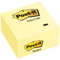 Kostka samoprzylepna Post-it 76x76mm akwarela żółta