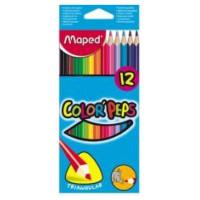 Kradki Maped Colorpeps trójkątne 12szt.