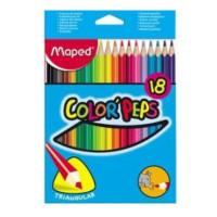 Kradki Maped Colorpeps trójkątne 18szt.