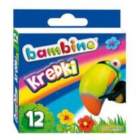 Kredki Bambino St.Majewski 12 kolorów w pudełku